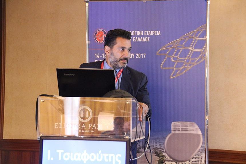 Τσιαφούτης-Ιωάννης-Επεμβατικός-Καρδιολόγος - 10o Συνέδριο Επεμβατικής Καρδιολογίας και Ηλεκτροφυσιολογίας